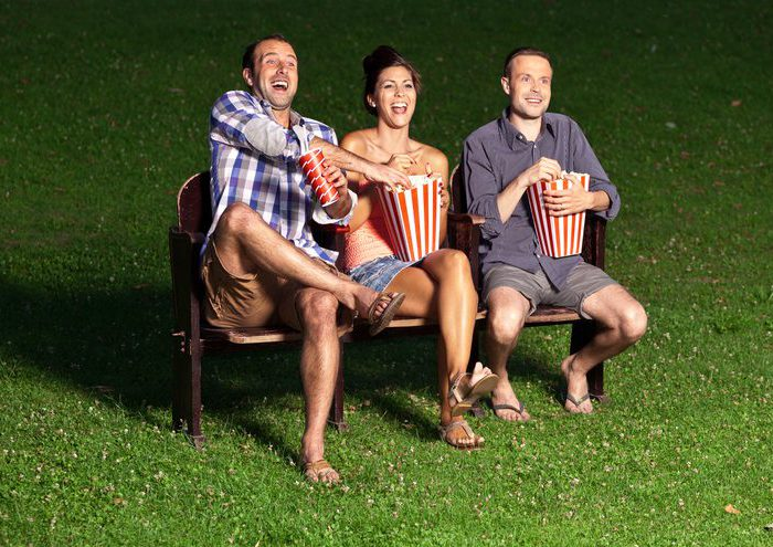 Outdoor Movie night rentals  and inflatable screen rentals for the Chicago area